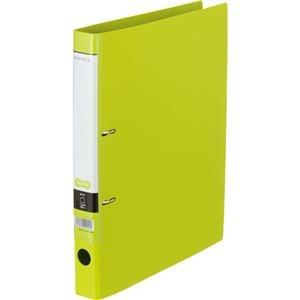 その他 (まとめ) Dリングファイル A4-S 背幅37mm ライトグリーン 10冊 【×10セット】 ds-2231979