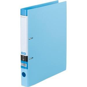 その他 (まとめ) Dリングファイル A4-S 背幅37mm ライトブルー 10冊 【×10セット】 ds-2231980