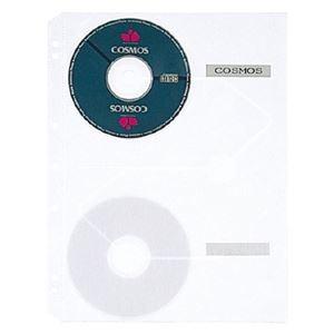その他 クリヤーポケット クリアポケット CD・CD-ROM用 A4タテ 2・3・4穴 5枚 【×10セット】 ds-2232009