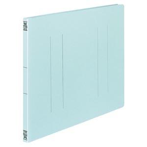 その他 (まとめ) コクヨ フラットファイルV(樹脂製とじ具) A3ヨコ 150枚収容 背幅18mm 青 フ-V48B 1パック(10冊) 【×10セット】 ds-2232035