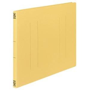 その他 (まとめ) コクヨ フラットファイルV(樹脂製とじ具) A3ヨコ 150枚収容 背幅18mm 黄 フ-V48Y 1パック(10冊) 【×10セット】 ds-2232036