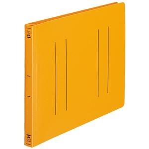 その他 (まとめ) コクヨ フラットファイル(PP) A4ヨコ 150枚収容 背幅20mm オレンジ フ-H15YR 1セット(10冊) 【×10セット】 ds-2232045
