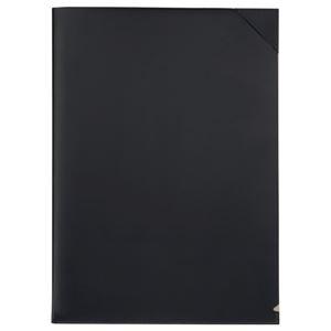 その他 (まとめ) プロッシモ リサイクルレザー クリアジャケット A4 ブラック PRORCJA4BK 1冊 【×10セット】 ds-2232137