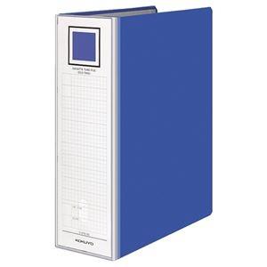 その他 (まとめ) コクヨ ガバットチューブファイル(エコツイン) A4タテ 800~1200枚収容 背幅95~135mm 青 フ-GT6120B 1冊 【×10セット】 ds-2232144