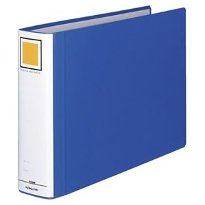 その他 (まとめ) コクヨ チューブファイル(エコツインR) B4ヨコ 600枚収容 背幅75mm 青 フ-RT669B 1冊 【×10セット】 ds-2232196