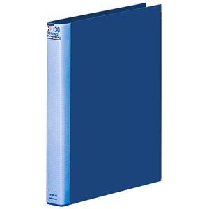 その他 (まとめ) マルマン ダブロックファイル A4タテ 30穴 200枚収容 背幅38mm ブルー F948R-02 1冊 【×10セット】 ds-2232238