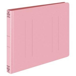 その他 (まとめ) コクヨ フラットファイルW(厚とじ) A4ヨコ 250枚収容 背幅28mm ピンク フ-W15P 1セット(10冊) 【×10セット】 ds-2232325