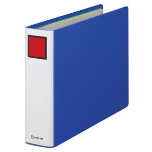 その他 (まとめ) キングファイル スーパードッチ A4ヨコ 500枚収容 背幅66mm 青 1485 1冊 【×10セット】 ds-2232344
