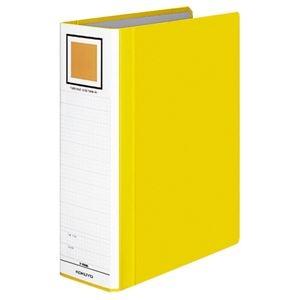 その他 (まとめ) コクヨ チューブファイル(エコツインR) A4タテ 800枚収容 背幅95mm 黄 フ-RT680Y 1冊 【×10セット】 ds-2232350