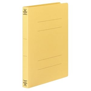 その他 (まとめ) コクヨ フラットファイルW(厚とじ) A4タテ 250枚収容 背幅28mm 黄 フ-W10Y 1パック(10冊) 【×10セット】 ds-2232356
