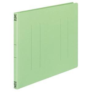 その他 (まとめ) コクヨ フラットファイルV(樹脂製とじ具) B4ヨコ 150枚収容 背幅18mm 緑 フ-V19G 1パック(10冊) 【×10セット】 ds-2232360