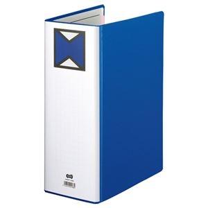 その他 (まとめ) TANOSEE パイプ式ファイル 片開き A4タテ 1000枚収容 背幅116mm 青 1冊 【×10セット】 ds-2232383