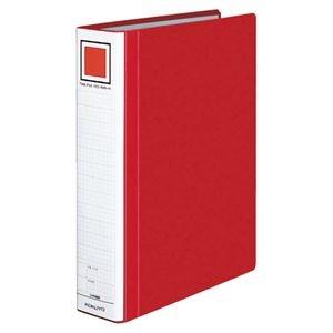 その他 (まとめ) コクヨ チューブファイル(エコツインR) A4タテ 500枚収容 背幅65mm 赤 フ-RT650R 1冊 【×10セット】 ds-2232423