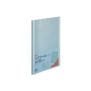 その他 (まとめ) TANOSEE クリアファイル A4タテ20ポケット 背幅14mm グリーン 1セット(10冊) 【×10セット】 ds-2232616