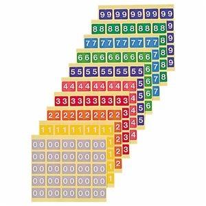 その他 (まとめ) ライオン事務器 カラーナンバーラベルM数字3 KM-2-3 1パック(250片:25片×10シート) 【×10セット】 ds-2232631