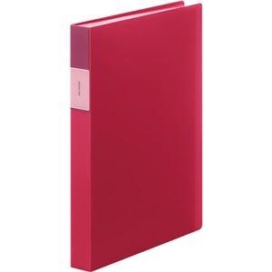 その他 (まとめ) キングジム FAVORITESクリアーファイル(透明) A4タテ 60ポケット 背幅34mm 赤 FV166-3Tアカ 1冊 【×10セット】 ds-2232675