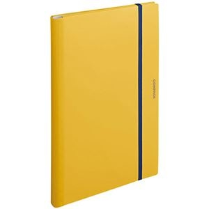 その他 (まとめ) キングジム 二つ折りクリアーファイルコンパック A3 10ポケット 黄 5896H 1冊 【×10セット】 ds-2232707