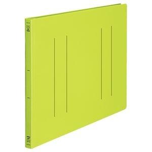 その他 (まとめ) フラットファイル バインダー <PP> 発泡PP A3ヨコ 2穴 収容寸法15mm 黄緑 10冊 【×10セット】 ds-2232743
