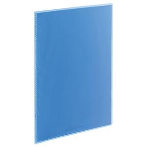 その他 (まとめ) TANOSEE クリアブック(高透明ポケット) A4タテ 10ポケット 背幅3mm ブルー 1セット(20冊) 【×10セット】 ds-2232758