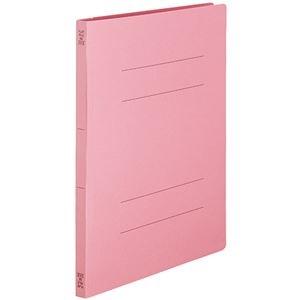 その他 (まとめ) TANOSEEフラットファイルSE(スーパーエコノミー) A4タテ 150枚収容 背幅18mm ピンク1セット(100冊:10冊×10パック) 【×10セット】 ds-2232769