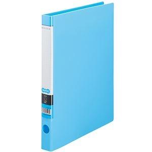 その他 (まとめ) TANOSEE OリングファイルA4タテ 2穴 150枚収容 背幅32mm ライトブルー 1セット(10冊) 【×10セット】 ds-2232801