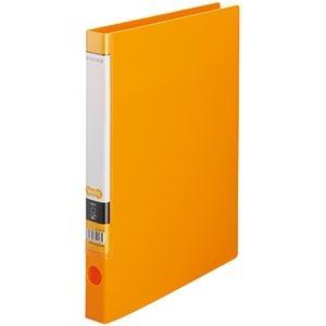 その他 (まとめ) TANOSEE OリングファイルA4タテ 2穴 150枚収容 背幅32mm オレンジ 1セット(10冊) 【×10セット】 ds-2232806