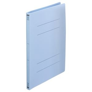 その他 (まとめ) TANOSEEフラットファイル(再生PP) A4タテ 150枚収容 背幅18mm ブルー 1セット(25冊:5冊×5パック) 【×10セット】 ds-2232813