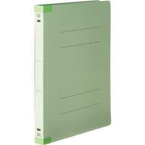 その他 (まとめ) TANOSEEフラットファイル(背補強タイプ) 厚とじ A4タテ 250枚収容 背幅28mm グリーン 1パック(10冊) 【×10セット】 ds-2233165