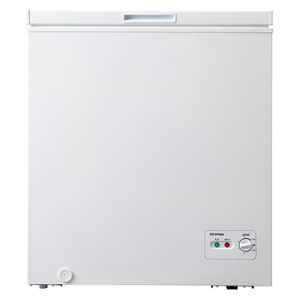 アイリスオーヤマ 上開き式冷凍庫142L(ホワイト) ICSD-14A【納期目安:06/中旬入荷予定】