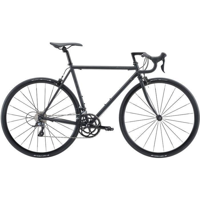 FUJI BALLAD OMEGA 2x9段変速 ロードバイク(MATTE BLACK/49) 20BLDOBK49