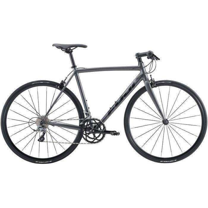 FUJI MADCAP 2x8段変速 クロスバイク(MATTE BLACK/54) 20MDCPBK54