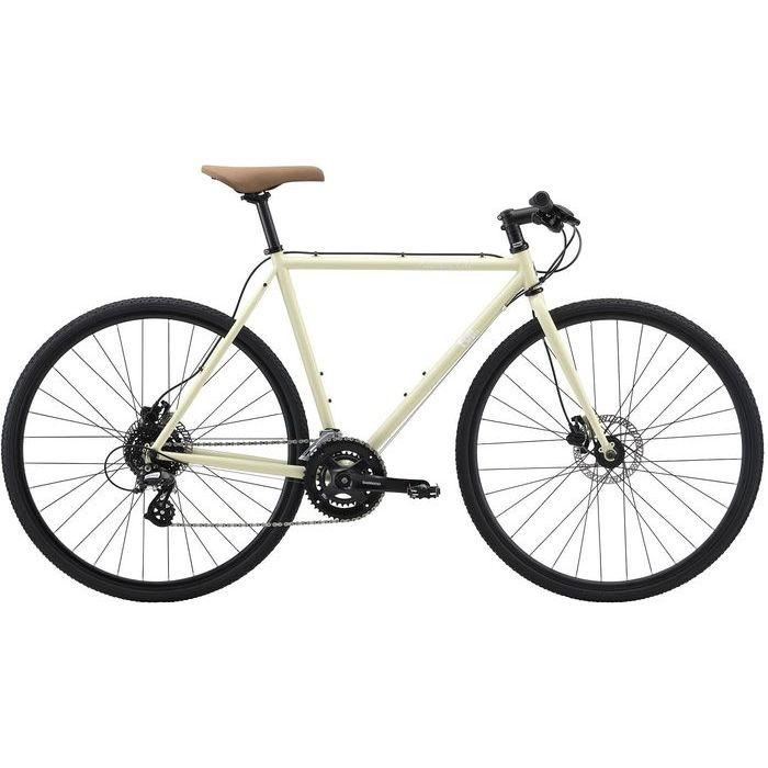 FUJI FEATHER CX FLAT 2x8段変速 クロスバイク(IVORY/49) 20FECFBE49
