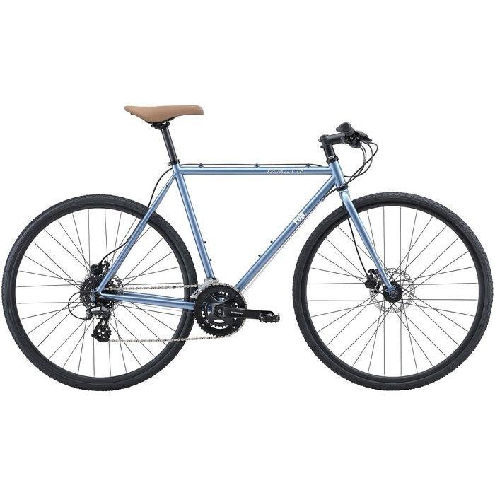 FUJI FEATHER CX FLAT 2x8段変速 クロスバイク(CLOUDED BLUE/58) 20FECFBL58