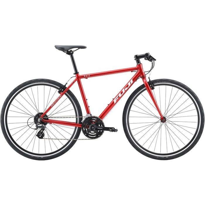 FUJI RAIZ 3x8段変速 クロスバイク(BRILLIANT RED/21) 20RAIZRD21