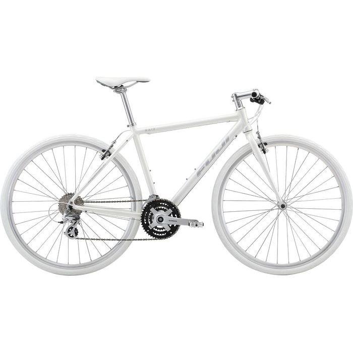 FUJI RAIZ 3x8段変速 クロスバイク(AURORA WHITE/21) 20RAIZWH21
