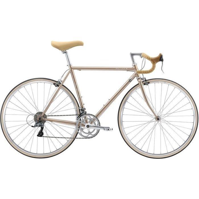 FUJI BALLAD R 2x8段変速 ロードバイク(CHAMPAGNE GOLD/43) 20BLDRGD43