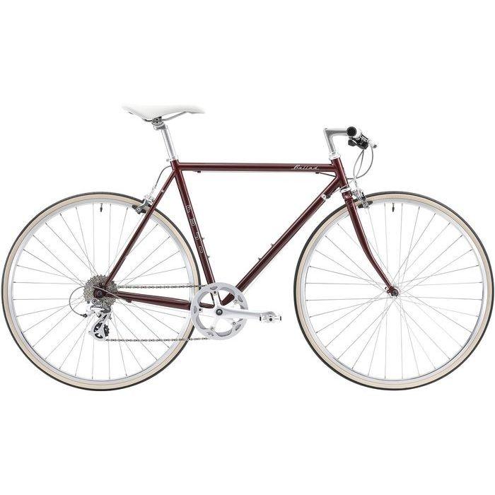 FUJI BALLAD 8段変速 クロスバイク(BORDEAUX/43) 20BALDBD43