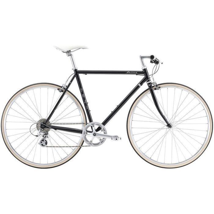 FUJI BALLAD 8段変速 クロスバイク(BLACK/49) 20BALDBK49