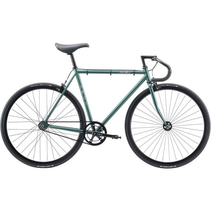 FUJI FEATHER シングルスピード ピストバイク(MATTE GREEN/49) 20FETRGR49【納期目安:12/下旬入荷予定】