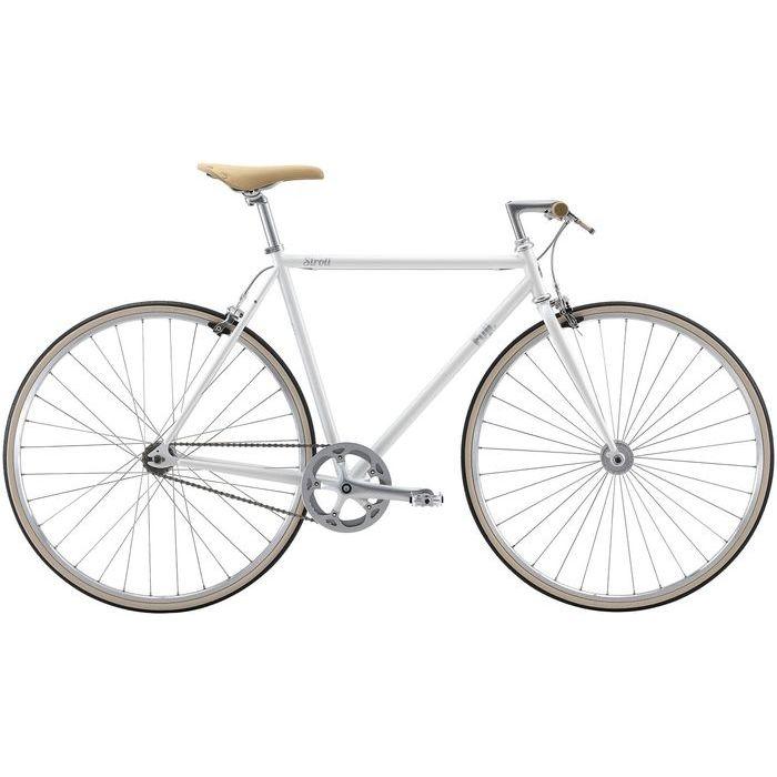 FUJI STROLL シングルスピード クロスバイク(WHITE/43) 20STRLWH43