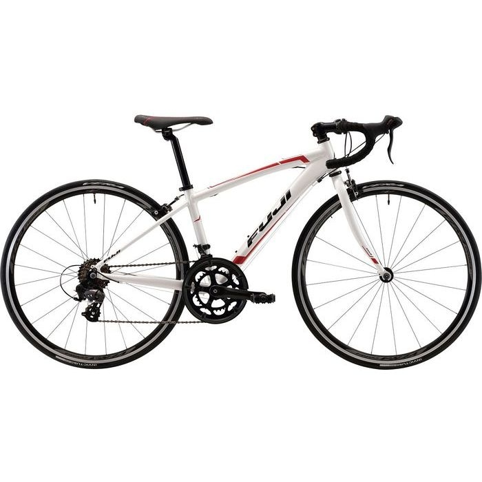 FUJI ACE 650 2x7段変速 子供用自転車(PEARL WHITE) 20AC65WH35