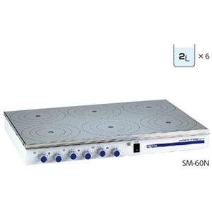 その他 マグネチックスターラー(多連式) SM-60N ds-2205032