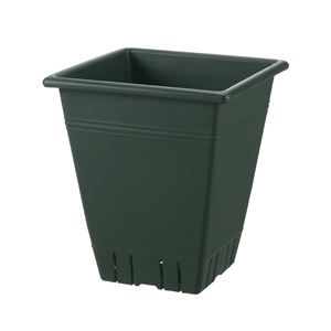 その他 (まとめ) 角型プランター/植木鉢 【31型 ダークグリーン】 容量:17L ガーデニング用品 園芸 『ネバール』 【×20個セット】 ds-2247894
