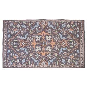 その他 エスニック風 ラグマット/絨毯 【170×230cm TTR-169A】 長方形 インド製 〔リビング ダイニング 応接間 客間〕 ds-2248427