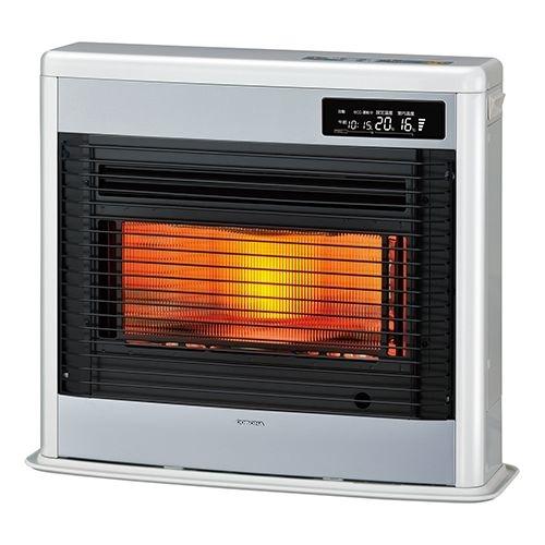 コロナ お部屋がすっきりする薄型スタイル。ワイド赤熱輻射+微温風でしんから温る。【コロナFF式輻射ペースネオ】<別置タンク式(別売)>暖房のめやす:木造18畳/コンクリート28畳 FF-SG6819KW