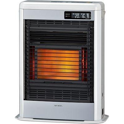 コロナ 高性能と薄型・コンパクト設計の両立で、快適暖房。【コロナFF式輻射スペースネオミニ】<別置タンク式(別売)>暖房のめやす:木造11畳/コンクリート18畳 FF-SG4219MW