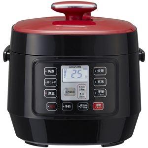 その他 マイコン電気圧力鍋 レッド ds-2250197