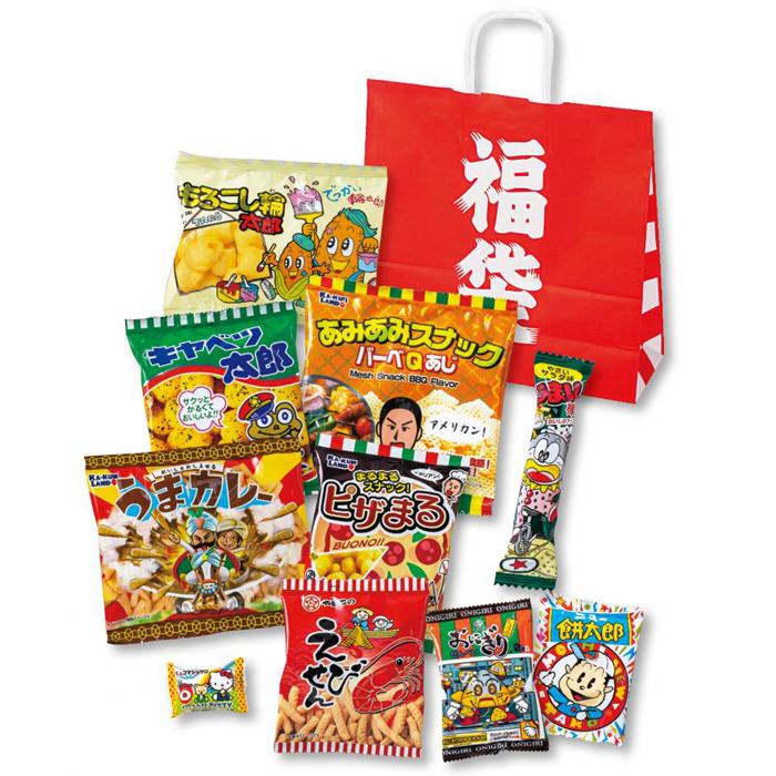 その他 【30個セット】福袋お菓子10点セット 2270041