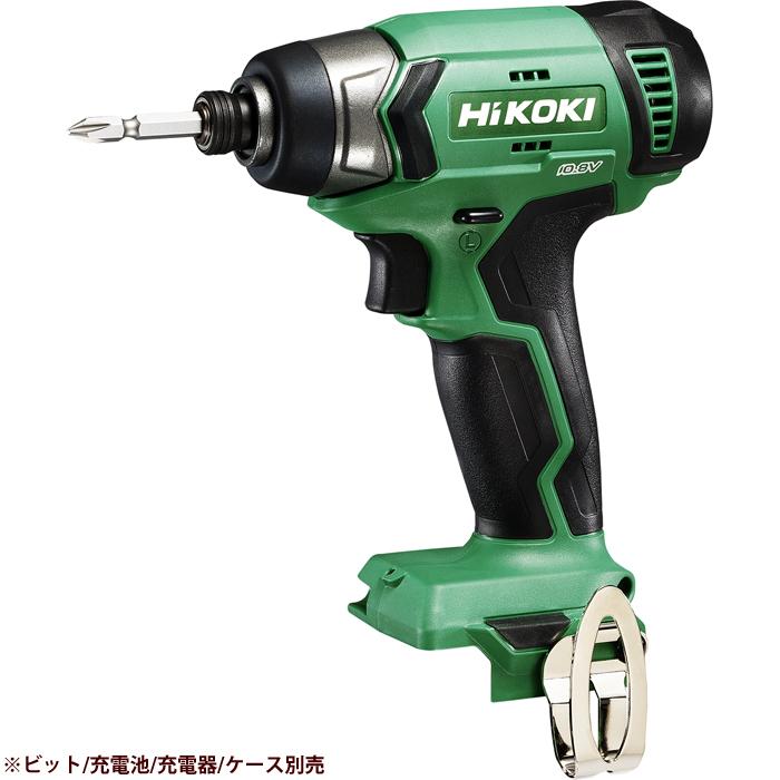 HiKOKI(日立工機) 【期間限定!メーカー在庫限定特価!!】コードレスインパクトドライバ(※本体のみ)(ビット、充電池、充電器、ケースは別売です) WH12DA(NN)