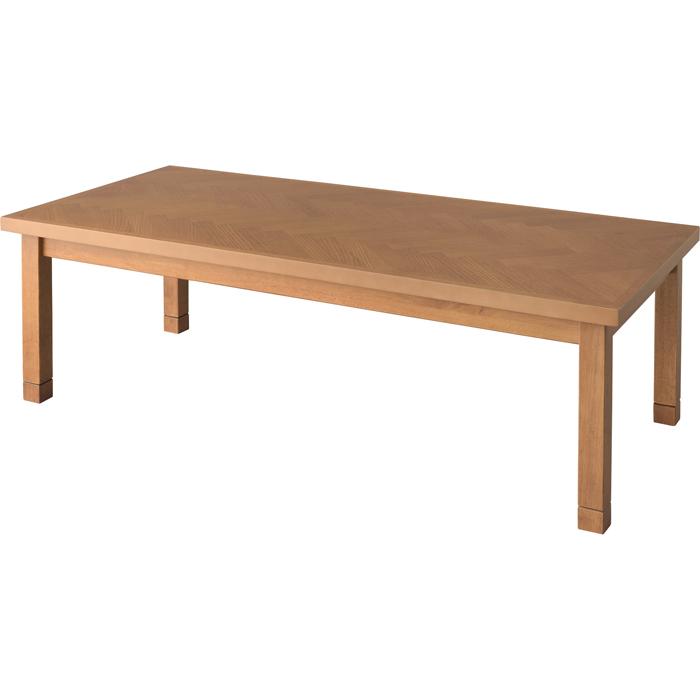 東谷(あづまや) コタツテーブル(W130×D60×H36/40cm)(※コタツテーブル本体のみになります)(組立式) KT-113BR